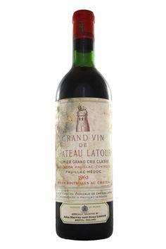 Grand Vin de Chateau Latour 1962 Premier Grand Cru Classe, Chateau Latour from Fraziers Wine Merchants