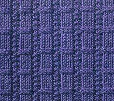 Waffle Ribs - Stitch Sample
