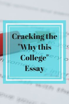 why i want to attend your college essay