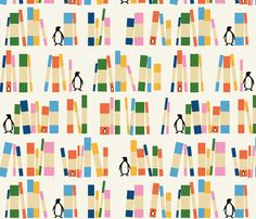 Ode to Penguin fabric by kate_legge on Spoonflower - custom fabric