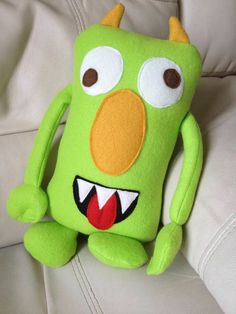 A friendly monster for your little one.