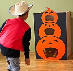 Bean Bag Toss, Halloween Games – Fun Halloween Party Games for All Ages