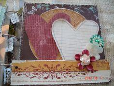 Scrapbooking by Phyllis: Premade 8x8 Acrylic Scrapbook Album *Love*