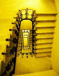 Yellow Staircase by meghimeg