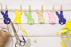 These best bunny crafts for Easter are just what your holiday needs. We've rounded up lots of ideas here that your kids will love creating, as well as more involved DIY Easter crafts that you can get creative with. Bunny Crafts, Glue Crafts, Easter Crafts For Kids, Easter Garland, Easter Gift Baskets, Homemade Valentines, Diy Easter Decorations, Origami Egg, Easy Diy