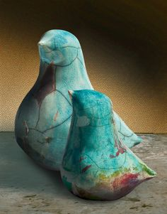 Vase objects to show off, Mad Birds that make you smile … – Air Dry Clay Clay Birds, Ceramic Birds, Ceramic Clay, Ceramic Pottery, Ceramic Sculpture Figurative, Sculpture Clay, Clay Art, Paper Clay, Slab Ceramics