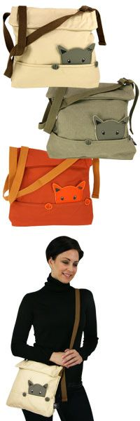 Curious Cat Shoulder Bag at The Animal Rescue Site