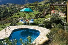 Villa Delfino, is found close to the village of Scopello, on the Italian island of Sicily.  Situated on a hillside with amazing views from the private pool area.  Whilst Scopello is a quiet village you will find a handful of
