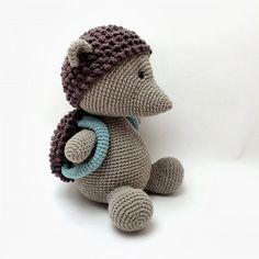 PINDSVINET HECTOR | LittleHappyCrochet