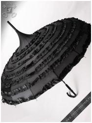 Lamia black umbrella