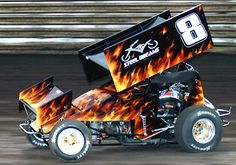 2005 Best Appearing Car, Brooke Tatnell. This was one of my first Knoxville races! :D