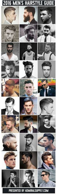 New Men's Hairstyles for 2016 (30 Styles)