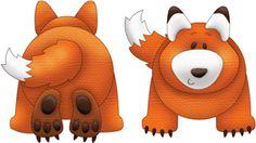 Silhouette Design Store - View Design #11999: forest fox