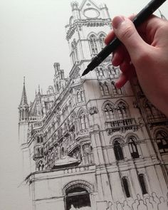 """11.8k Likes, 161 Comments - Phoebe Atkey (@phoebeatkey) on Instagram: """"Working on multiple drawings at the moment including this slightly daunting piece..."""""""