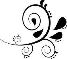 Black Swirl Clip Art Vector Online Royalty Free Amp Public