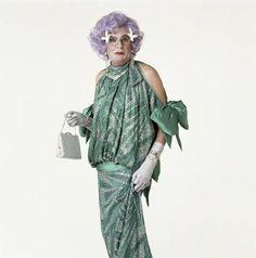 Portrait of a megastar (me!) by Lord Lichfield taken in 1987. Dame Edna Everage