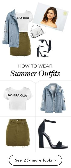 """jeans fv"" by shogher-harutyunyan on Polyvore featuring Topshop, Victoria Beckham, Rebecca Minkoff and 26"