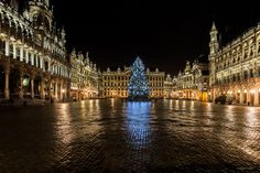 Fangirl is my middle name - Our beautiful Grand Place with the Christmas...