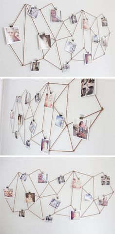 Ayeee this is even cooler than the string and clothespins:
