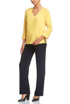 Signature Picasso Blouse by Sportscraft in a universal yellow that suits all skin tones. Autumn Fashion 2018, Picasso, Suits, Yellow, Blouse, Collection, Women, Suit, Blouses