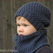 This Crochet PATTERN - The Portland Slouchy Hat and Cowl Set Pattern (Baby to Adult sizes - Boys, Girls) - id: 16062 is just one of the custom, handmade pieces you'll find in our patterns & how to shops.Items similar to ELLA baby summer hat crochet p Crochet Slouchy Beanie, Crochet Hooded Scarf, Crochet Scarves, Knitted Hats, Knit Crochet, Hooded Cowl, Crochet Olaf, Patron Crochet, Crochet Dinosaur