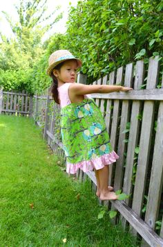Madison Opal Owl Green and Pink Dress 1218 1824 2T by SamAndCoop, $49.50