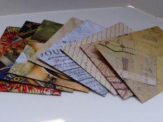 Assorted Vintage Envelopes (8 count)