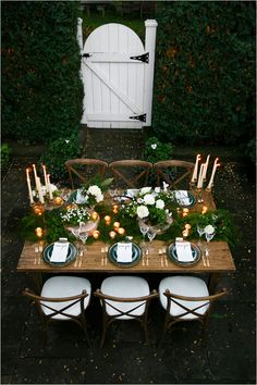 sherwood forest inspired reception #weddingseatingideas #weddingreception #weddingchicks http://www.weddingchicks.com/2014/04/09/english-garden-wedding-ideas/