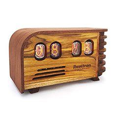 The Vintage Nixie Tube Clock   ThinkGeek