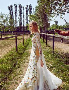 Manon B by Koray Parlak for ELLE Turkey June 2015 - Rochas