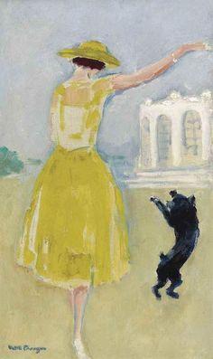 terminus ante quem — Kees van Dongen (Dutch, 1877-1968), La robe jaune,...
