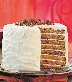Mile-High White Chocolate Hummingbird Cake