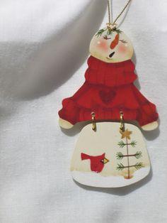 Cute Snowmen Ornaments.