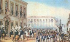 Ficheiro:Aclamação de D Pedro II em 1831 by Debret.jpg