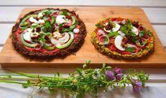 Rohkost-Pizza - VeganBlatt