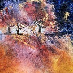Moonlit walk - Ann Blockley