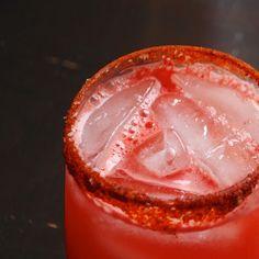 Always Order Dessert: Spicy Watermelon Tequila Cocktails (No Added Sugar)