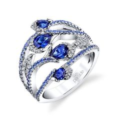 Sapphire & Diamond Fashion Ring BD3754A-SA by Parade Design.