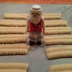 Santa looks after the cookies :) #Playmobil #toyphotography #plasticculture #toyworld #instaplaymo #fatherchristmas #cookies #spritzgebäck #christmas #holiday #toyunion #toycollectors #season #bakery