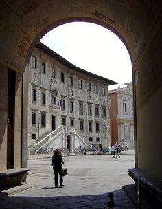 Pisa: palazzo della Normale
