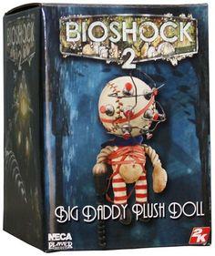 Bioshock 2 Big Daddy Plush Doll | Geek Decor Bioshock Game, Bioshock Series, Video Game Bedroom, Video Game Decor, Geek Decor, Pop Dolls, Santa Letter, Big Daddy, Pop Vinyl Figures