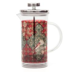 A dressed up French press! Makes for a very fancy gift, methinks.