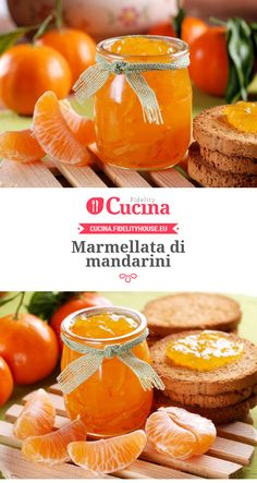 Marmellata di mandarini Sweet Light, My Favorite Food, Favorite Recipes, Sweets Recipes, Cooking Time, Food Photo, Ricotta, Food Inspiration, Italian Recipes