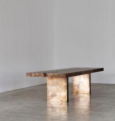 Based Upon (London): Stingray backbone table