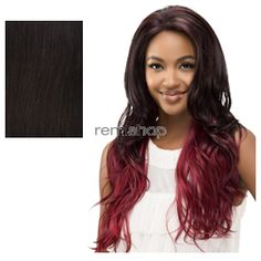 """Vivica Fox Swiss Lace Front Michelle 25"""" - Color 2 - Synthetic (Curling Iron Safe) Swiss Lace Front Wig"""