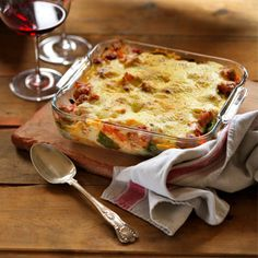 Sausage and spinach bake | Comfort food recipes | Red Online