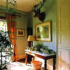luxury country house room decorating