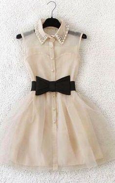 Sexy Semi-sheer Rhinestone Bowknot Bubble Party Dress