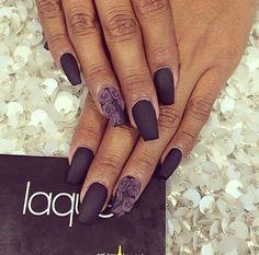 Fall 2014 Dark nail colors - Purple