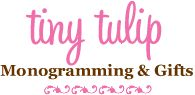 tinytulip.com- LOTS of cute stuff - all monogram